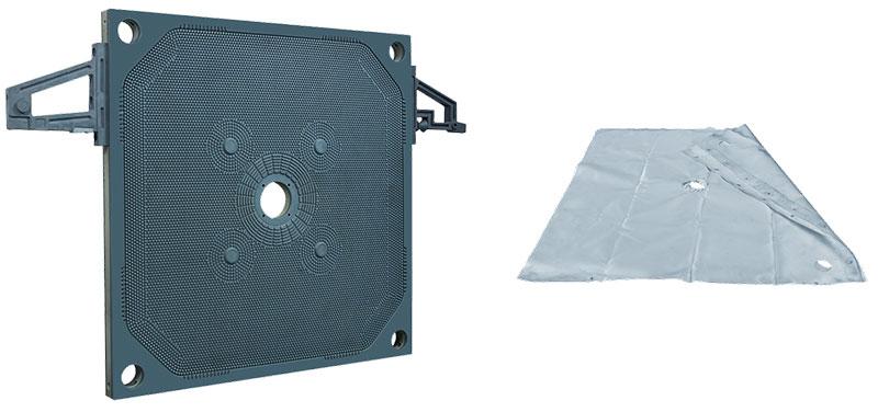 污泥压滤机滤布、滤板
